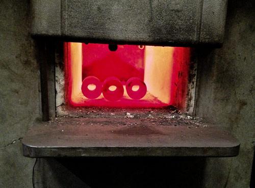 Heat Treating Oven : M machine hardening gauge plate